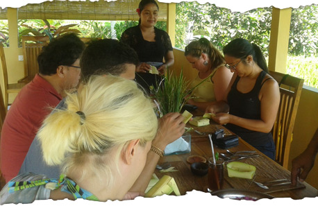 Starting-Bali-Cooking-Class-with-Canting-Bali-family